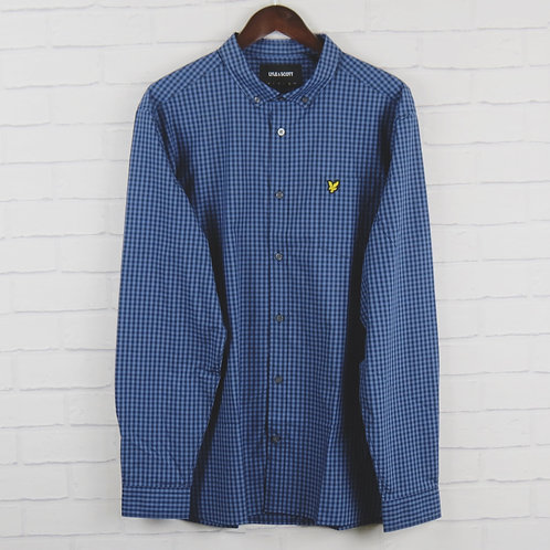 Lyle and Scott Blue Gingham Shirt