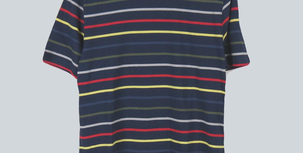 Barbour Steve Mc Queen Radial Navy T-Shirt