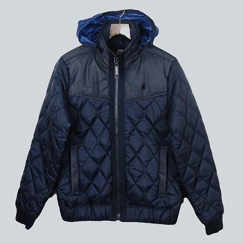 G-Star RAW Meefic Quilt Jacket Navy