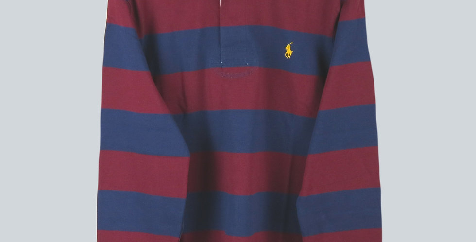 Polo Ralph Lauren Rugby Jersey Navy & Burgundy