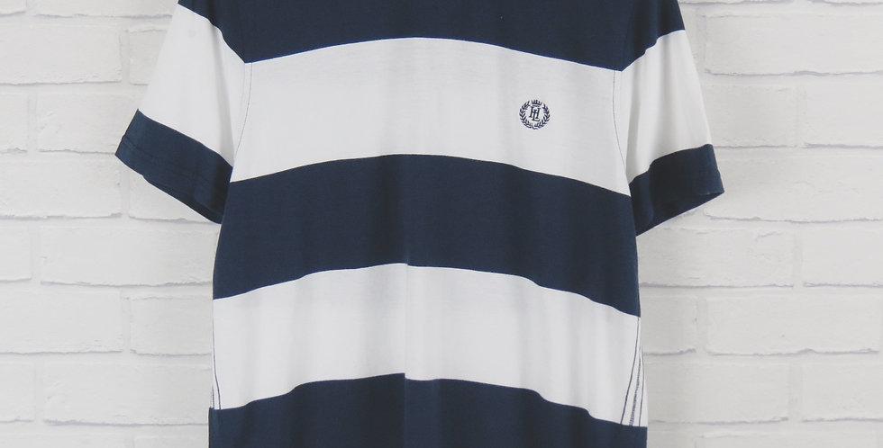 Henri Lloyd Navy Stripe T-Shirt