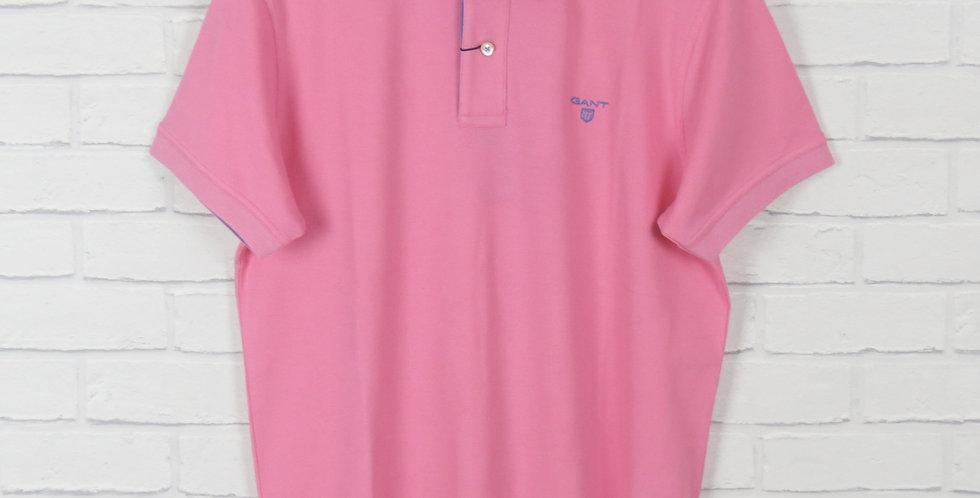 Gant Rugger Baby Pink Pique SS Polo