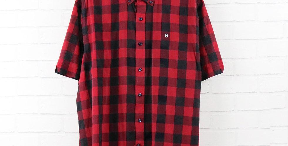 Victorinox Red Check Short Sleeve Shirt