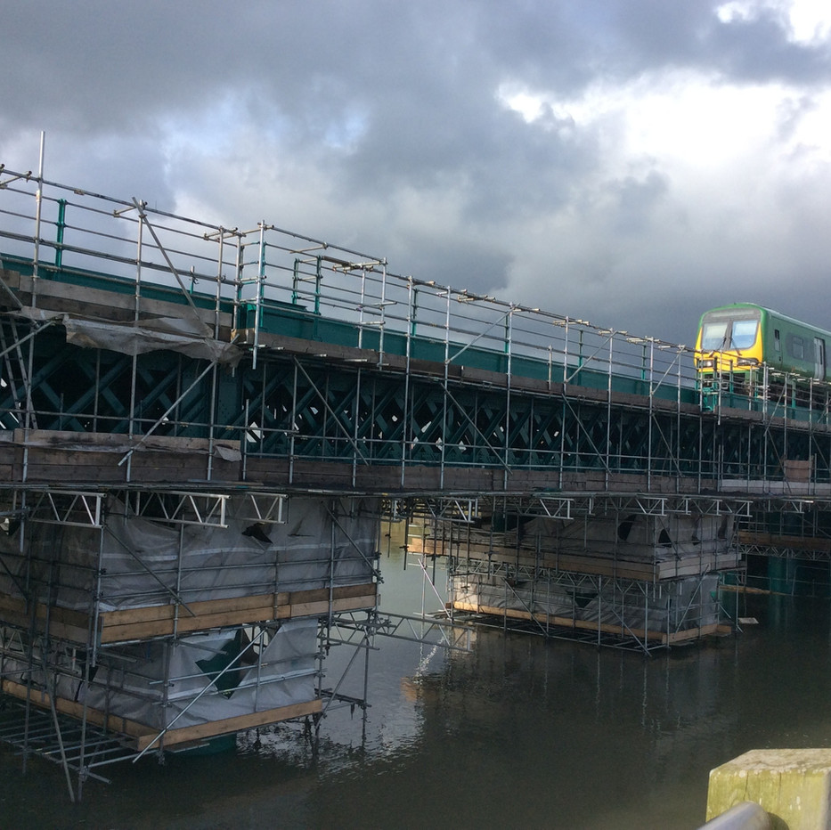 Laytown Viaduct, nr Dublin for Irish Rail Autumn 2015