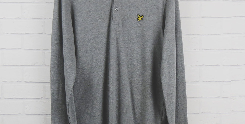 Lyle and Scott Polo Shirt Grey