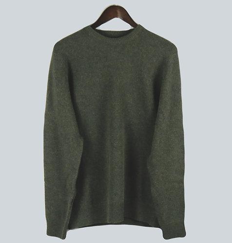 Barbour Harold Crew Sweater - Olive