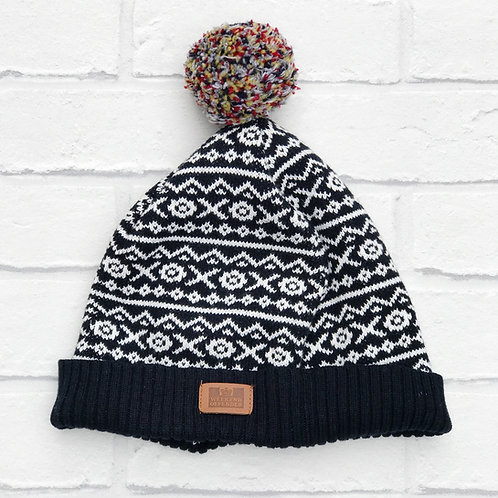 Weekend Offender Fairisle Bobble Hat