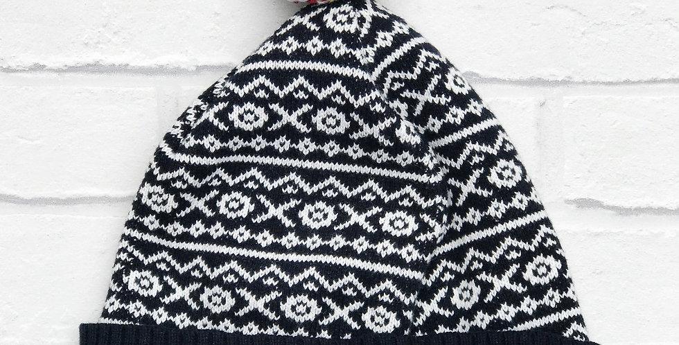 Weekend Offender Fairisle Bobble Hat