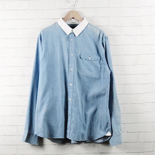 Penfield Blue Logan Chambray Shirt