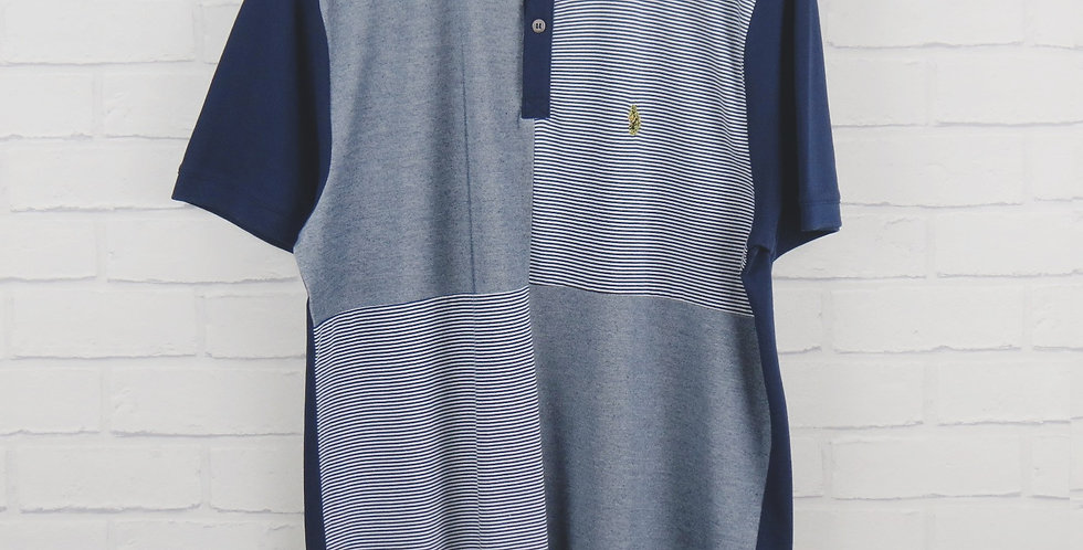 Luke Docker Day Navy Polo