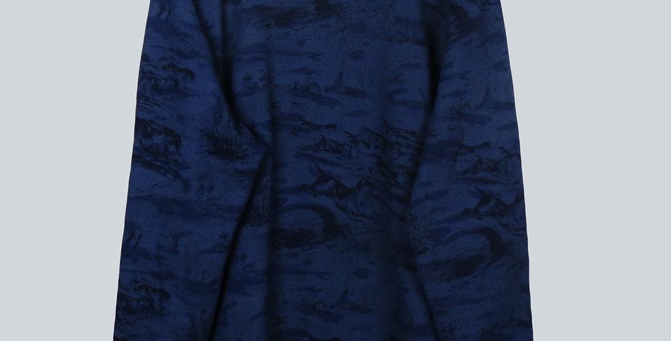 G-Star RAW Print Navy Sweatshirt