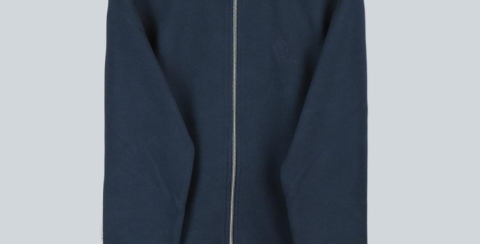 Belstaff Classic Zip Through Sweatshirt Navy