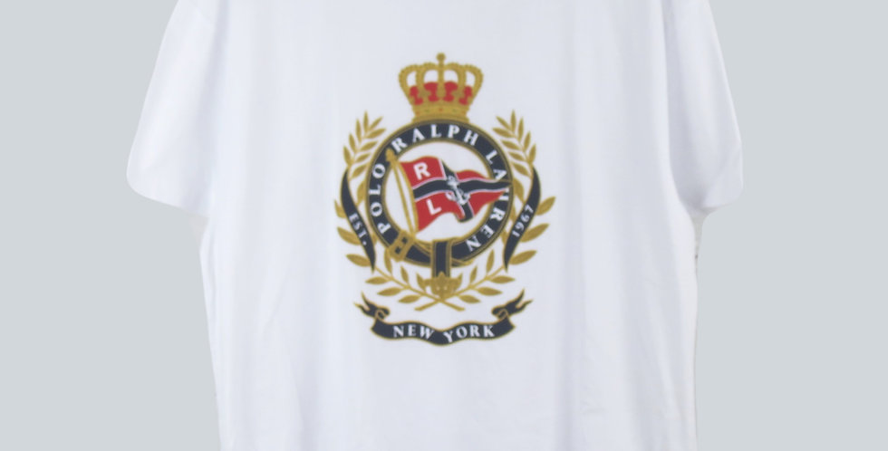 Polo Ralph Lauren M Newport T-Shirt White