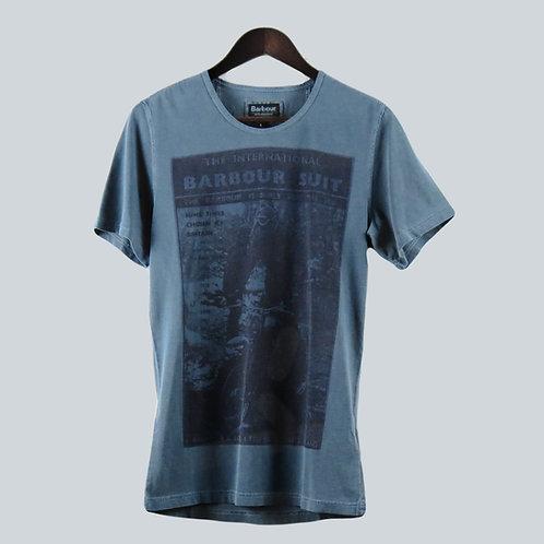 Barbour Suit Blue T-Shirt
