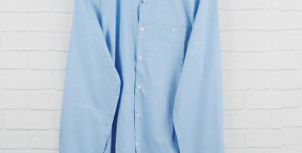 Luke Blue Oxford Shirt