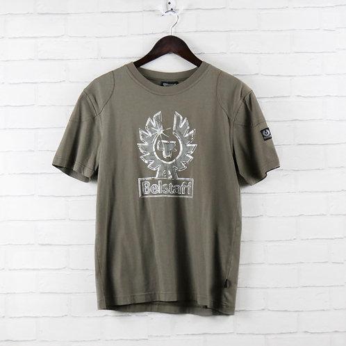 Belstaff Logo Khaki T-Shirt