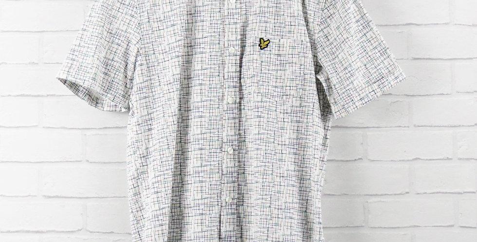 Lyle & Scott White Etch Shirt