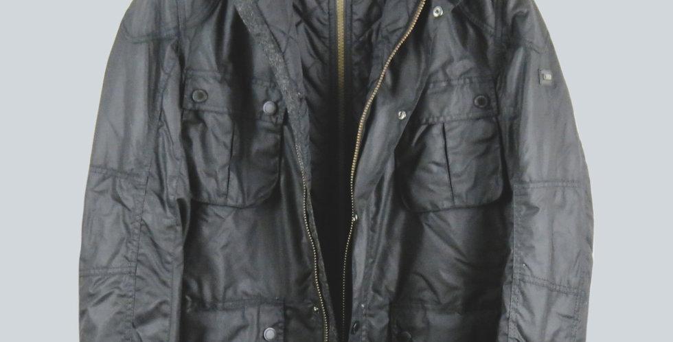 Barbour Guage Wax Jacket Black