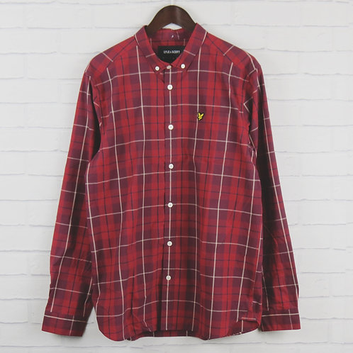 Lyle and Scott Red Check Shirt