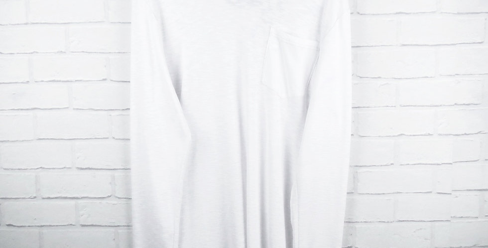 G-Star RAW White Classic Long Sleeve T-Shirt