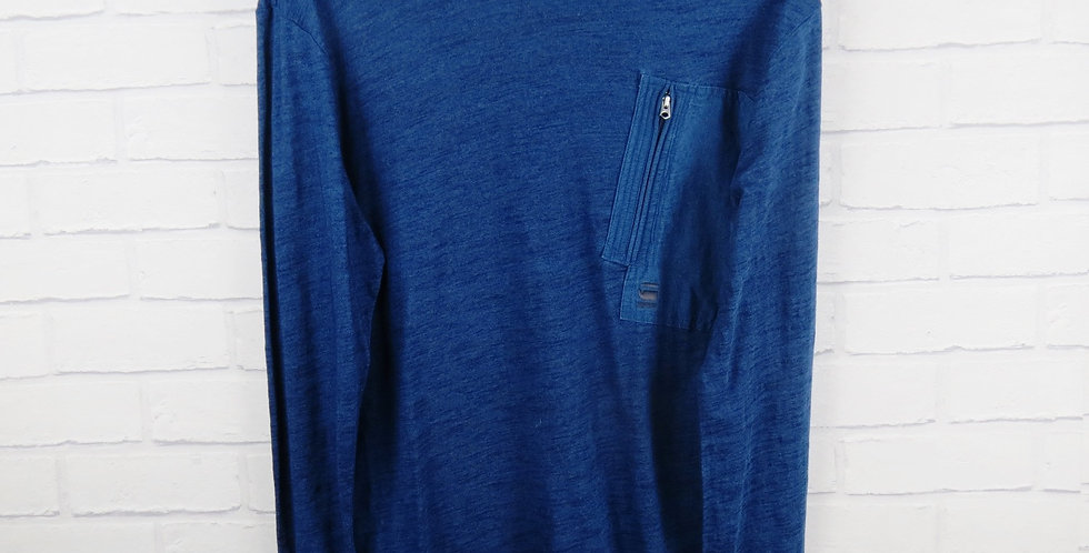 G-Star Raw Indigo Long Sleeve T-Shirt