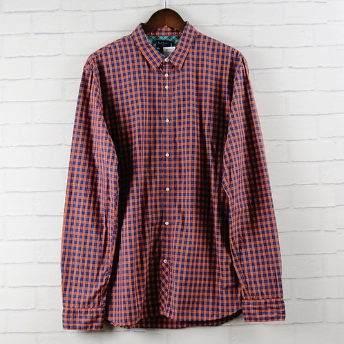 Paul Smith Orange Check Shirt