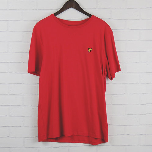 Lyle and Scott Red T-Shirt