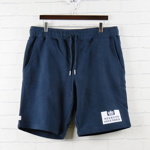 Weekend Offender Action Navy Shorts