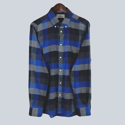 Barbour Stapleton Angus - Atlantic Blue Shirt