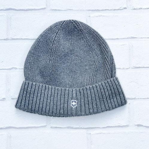 Victorinox Grey Beanie Hat