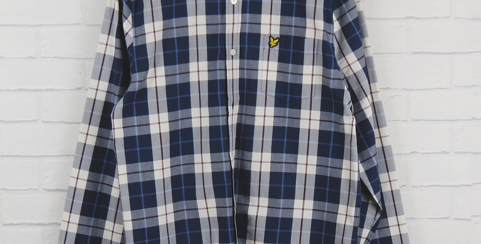 Lyle and Scott Blue Check Shirt