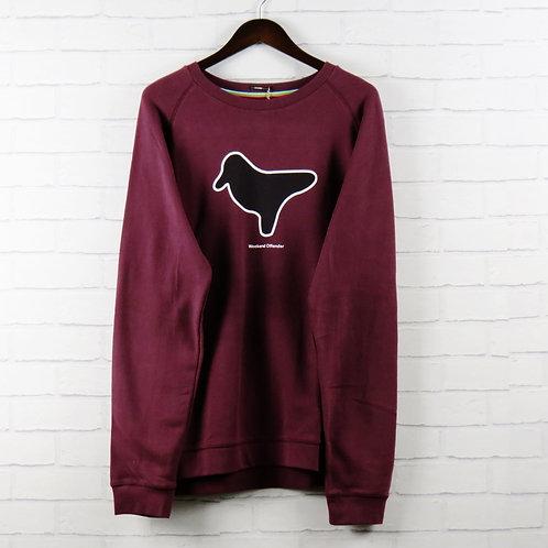 Weekend Offender Burgundy Dove Sweatshirt