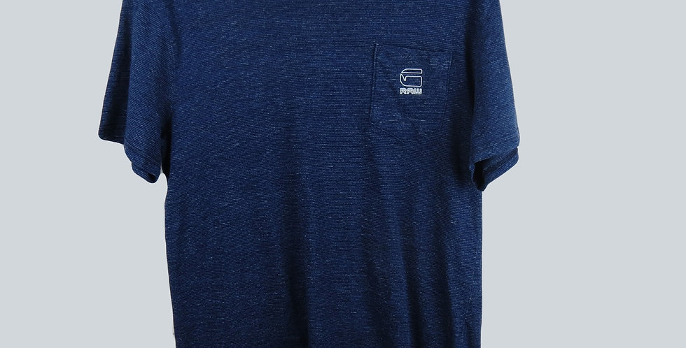 G-Star RAW Navy Aged T-Shirt
