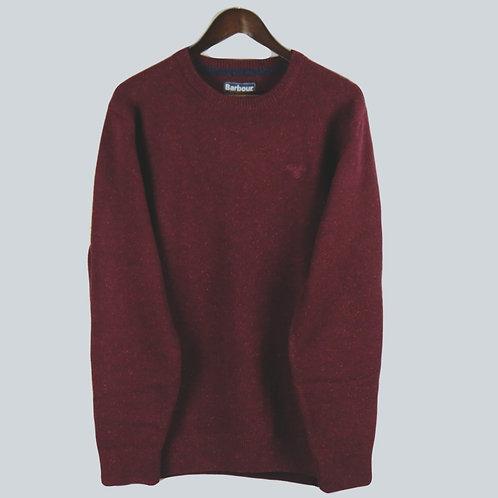 Barbour Tisbury Crew Sweater - Ruby