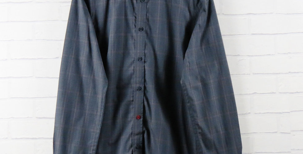 Weekend Offender Duffy Check Grey Shirt