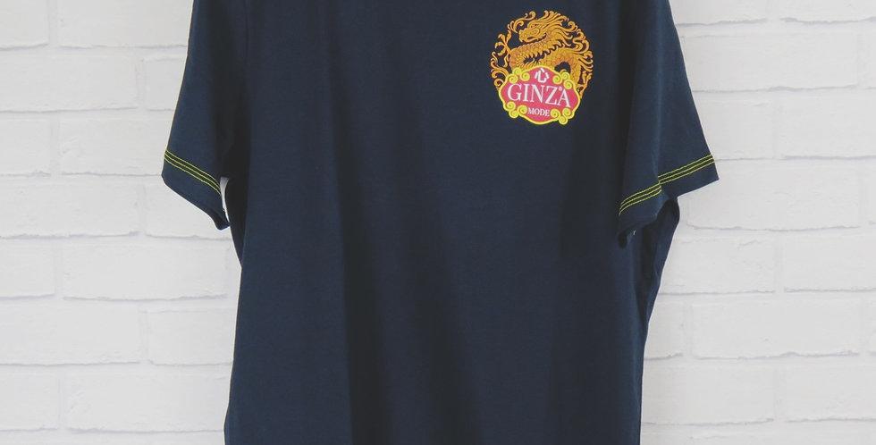 Ginza Mode Navy T-Shirt