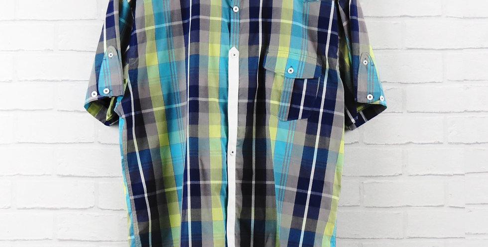 Luke 1977 Blue Bolt Short Sleeve Shirt