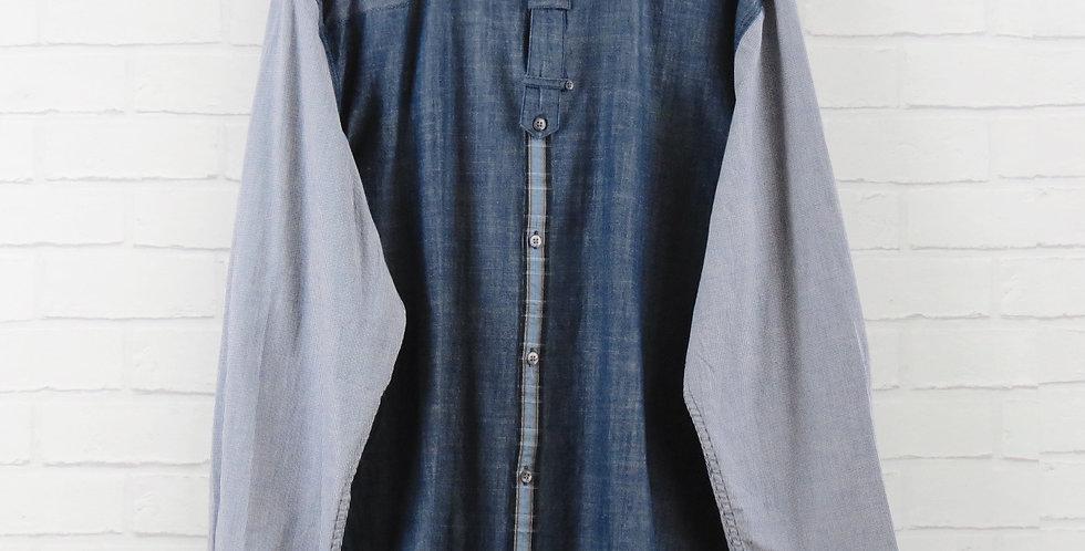 Luke 1977 Denim Panel Shirt