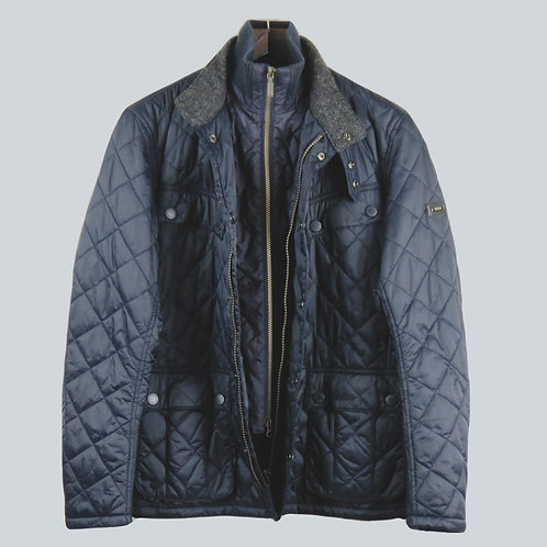 Barbour Windshield Quilt Jacket Navy