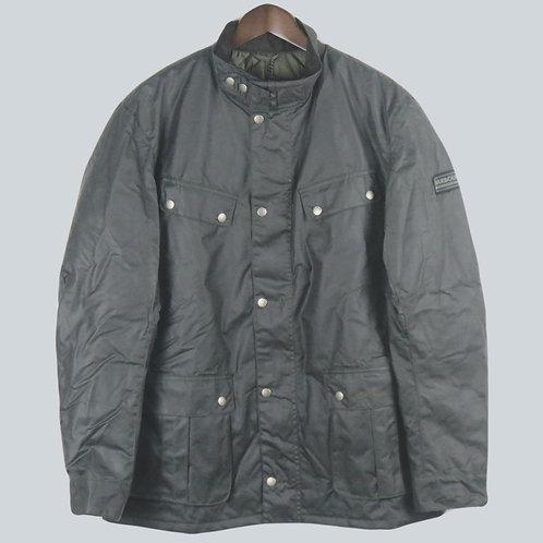 Barbour International Dark Olive Duke Jacket