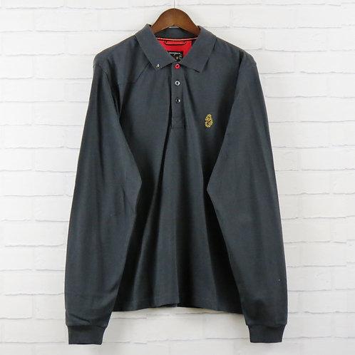 Luke 1977 Charcoal Classic Polo