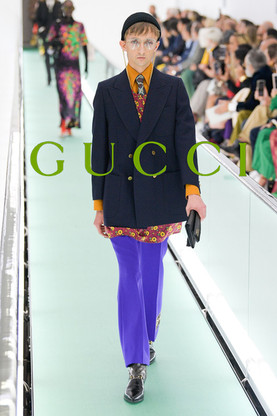will excluisive for gucci ss20 show milan fashion week