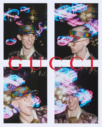 max and others for gucci psychadelia cruise campaign