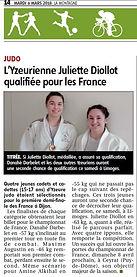 Yzeure Judo / Championat de France judo / Juliette DIOLLOT / Danahé DABELET / Amine ALKIHAL / Maxime AUGUSTIN