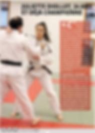 Juliette DIOLLOT / Championne de Francede Judo / Yzeure Judo