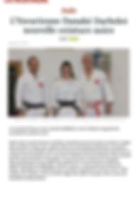 Danahé DARBELET / Yzeure judo / ceinture noire