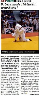 Yzeure Judo / Tournoi de Clermont / Tournoi de Clermont Judo / Juliette DIOLLOT / Danahé DARBELET / Mathieu PETITJEAN / Romain LE ROUX / judo