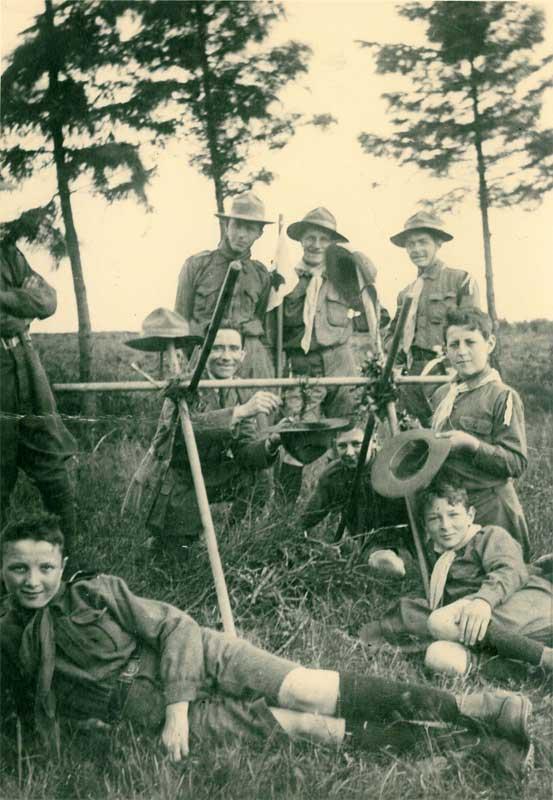 Les Scouts en 1919