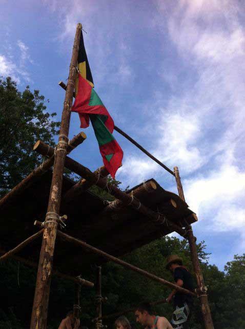 Camp éclaireurs 2014