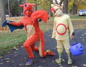 Debbie grandchildren costume.JPG